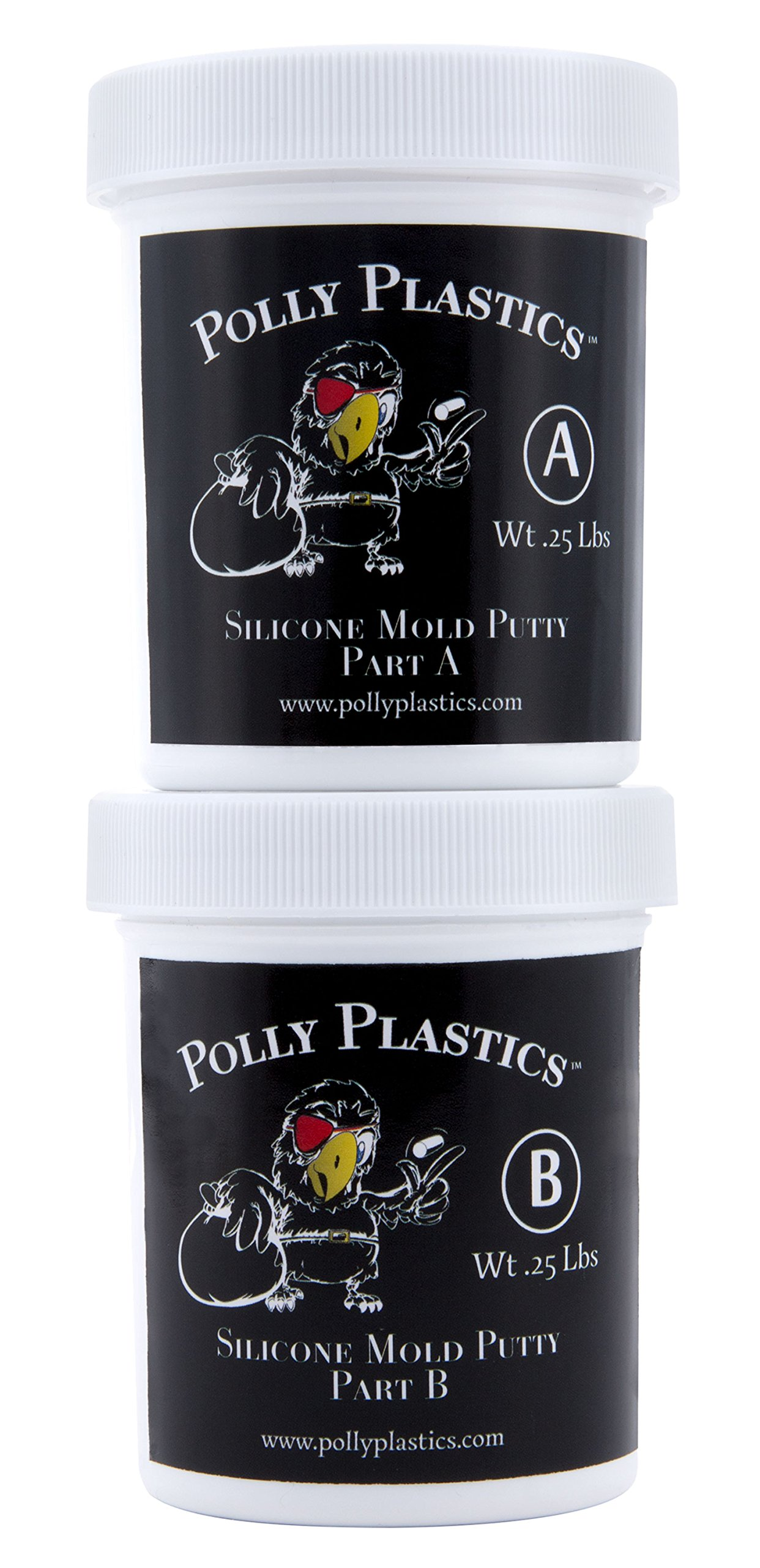 Polly Plastics Silicone Molding Putty - 1/2 Lb.