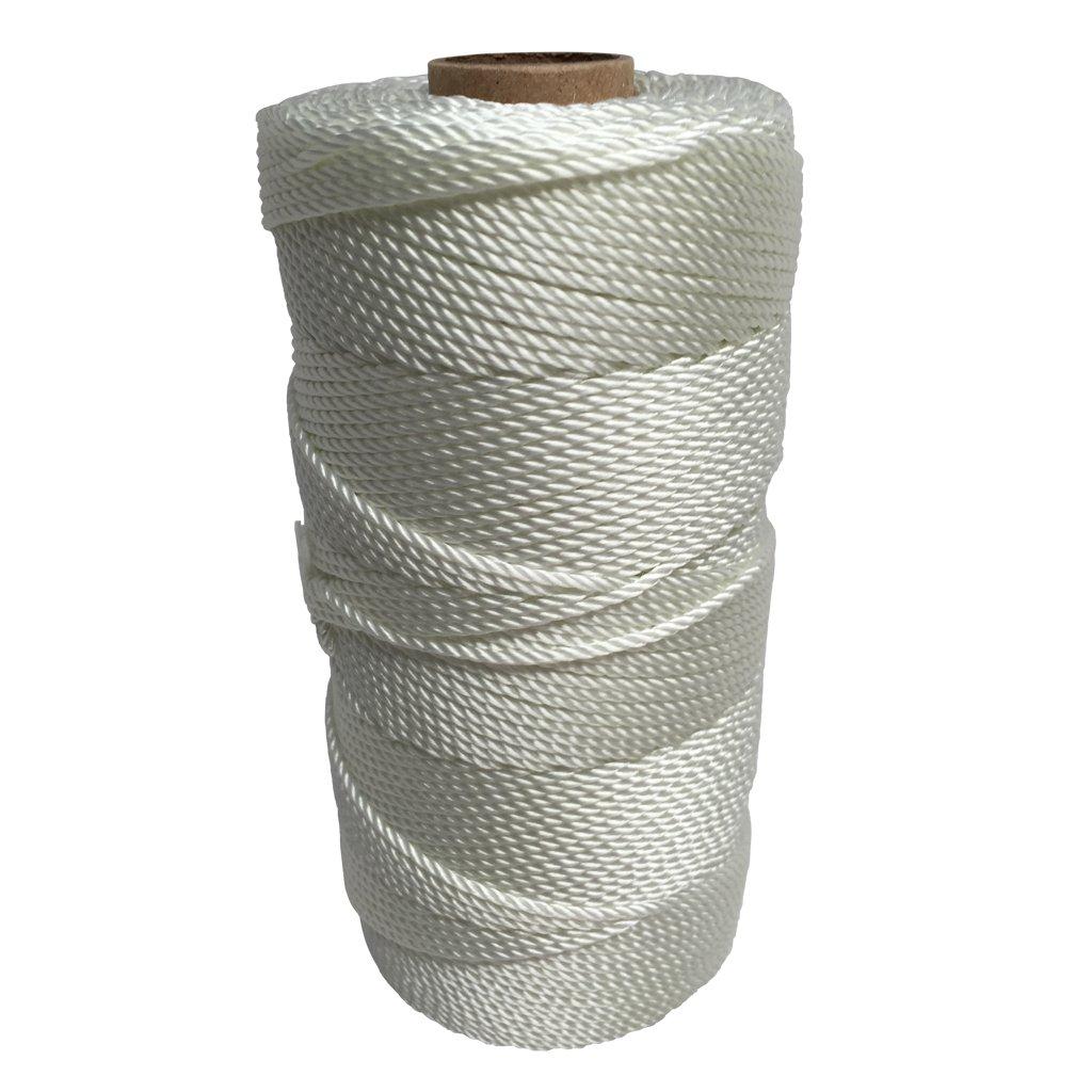 SGT KNOTS Twisted Nylon Seine Twine - #6, #7, #9, #12, #15, #18, #21, #24, #30, #36, #42, #48, #60, #72, #96, #120 (1 Pound - #24 - 750 feet)