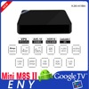 Amlogic s905x android iptv set top box support multilanguage MINI M8S II OEM Channel Tv Box