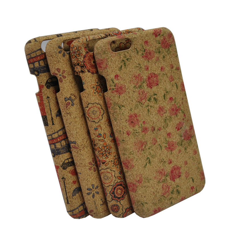 2018 New Arrivals Mobile Accessories Handmade Wooden Printed IMD Dropshipping Phone Case for I Phone 7 Plus