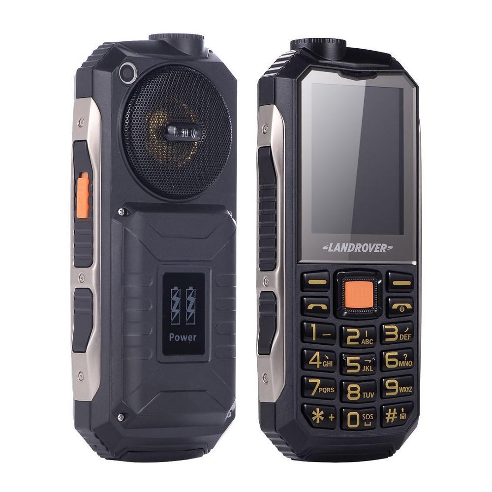 2.4inch K808 powerbank phone support 16800mah battery big keypad big speaker big screen mobile phone wechat stereo speaker