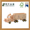 Promotional wooden truck toy high quality wooden toy truck funny wooden car toy