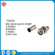 CCTV Mini BNC Connectors/ BNC Male Quick Crimp Connector BNC MALE QUICK CRIMP