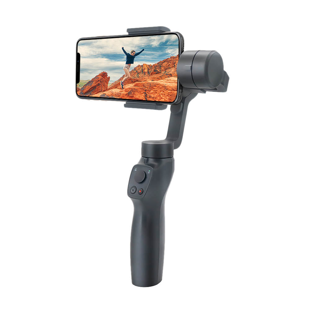Free Shipping Handheld Gimbal Stabilizer 3-axis extended rod steadicam for mobile phone VS Zhiyun Smooth Q фото
