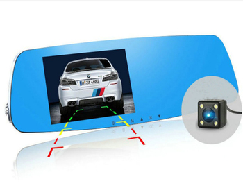 "ADAS 5.0"" LCD Dual Lens Full HD 1080P Car Camera Car Dvr"