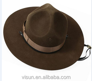 factory direct Adult Canadian Mountie Hat Park Ranger Hat Drill Sergeant  Brown Hat 32e2f4ea384
