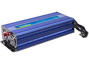 GOWE 1000W Off Grid Inverter Pure Sine Wave Inverter DC12V or 24V or 48V input, Wind Turbine Inverter