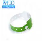 Flexible comfortable NFC microchip inlay rfid paper wristband