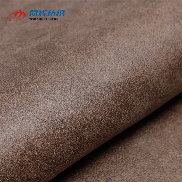 2019 China Low Price Hot Sale Good Quality Hot Stamping Suede Fabric For Sofa, Printed Suede Fabric