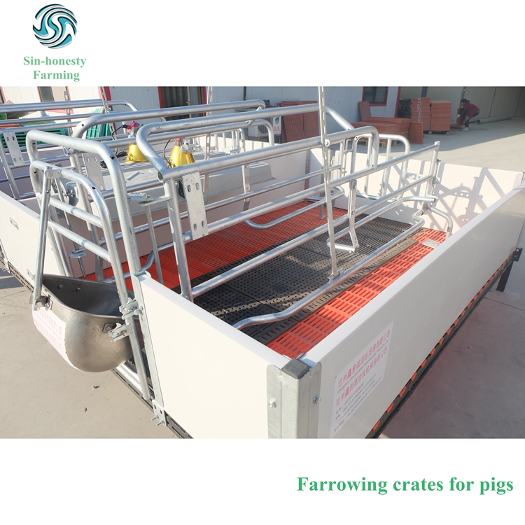High quality pig farrowing stalls pig bed sow birthing pen for sale