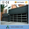 Cheap High Quality 16*7 Aluminum Frame Glass Garage Doors