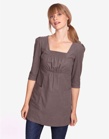 women ladies short sleeve cotton tunic tops