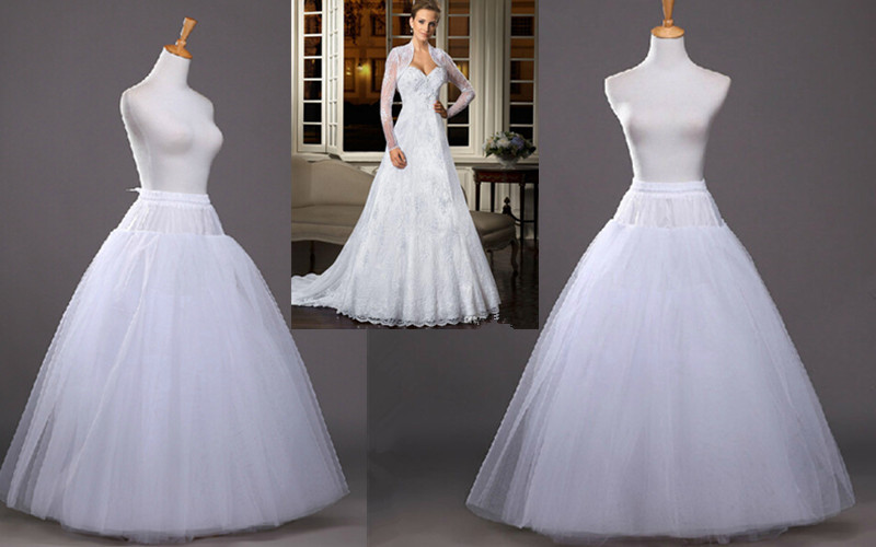 Princess Ball Gown Wedding Dresses: 2016 Fashion No Hoops Ball Gown Wedding Petticoats 6 Layer