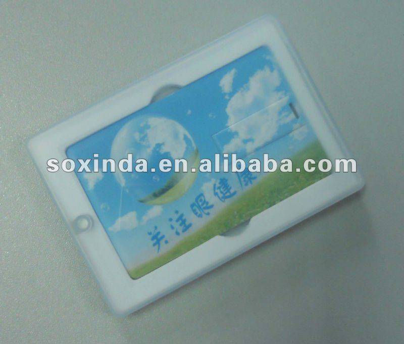 Card USB flash drive with PP box