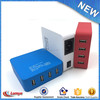 2016 Newest DC 5V 5V 4 Port USB Phone Power Adapter Portable Charger