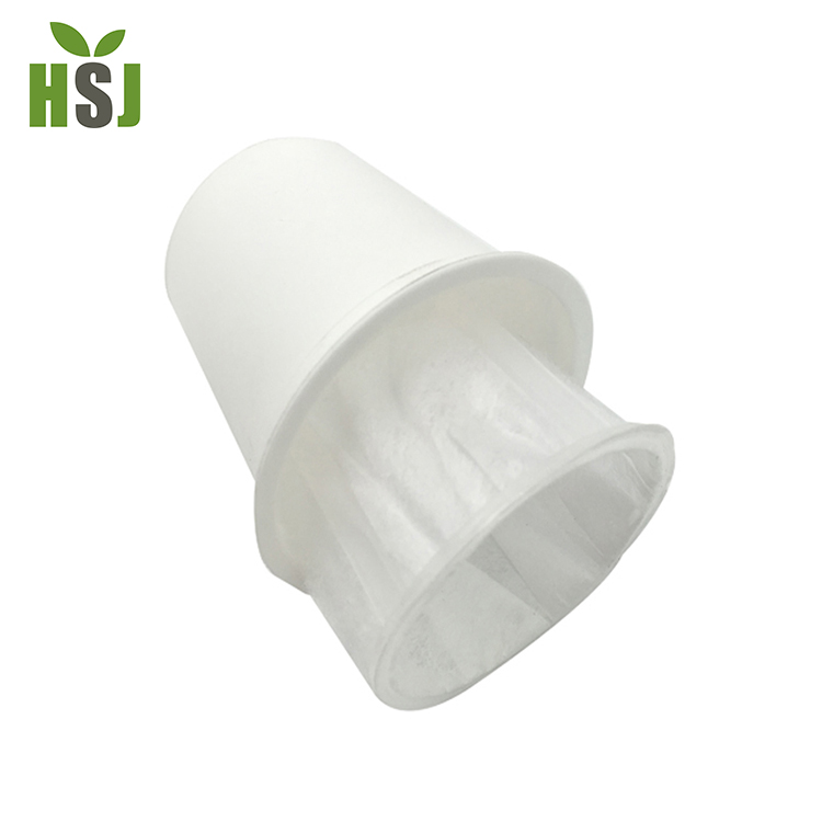 Disposable food grade plastic k cup coffee filter for keurig brewer
