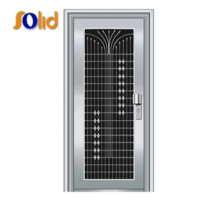 Made in China price grill front residential stainless steel door