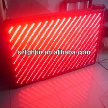 advertising led screen/sign clock time date temperature car 2r1g1b led billboards sign