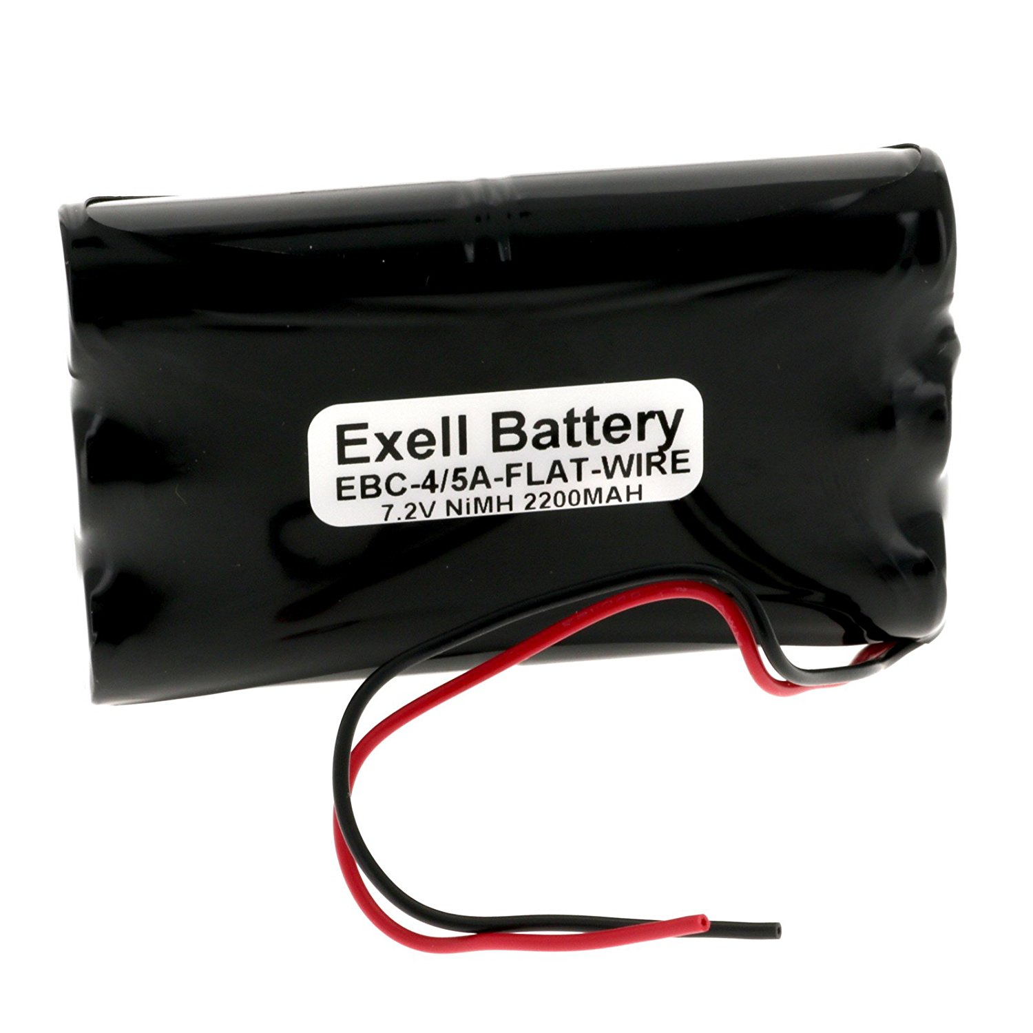 Exell 7.2V 2200mAh NiMH Battery w/ Wire Leads Hobby Packs RC Cars Remotes