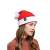 Cheap Adult Decoration Red And White Ornament Santa Clause Christmas Hats