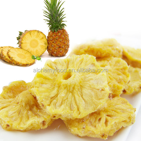 Wholesale grade A delicious vacumm fried pineapple