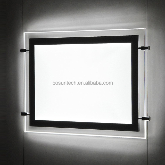 Hanging Type Illuminated Real Estate Agent Window Display