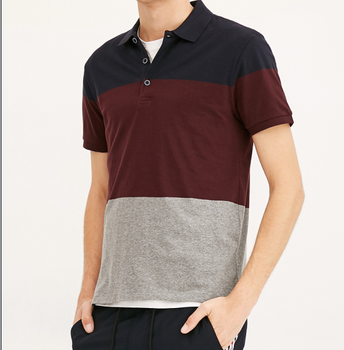 01702155 New Fashion wide stripe POLO for Men shirts, Casual Stripe Sport Mens Polo  Shirt wholesale