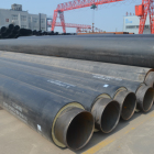 hot water pipe chilled water pipe heat resistance polyurethane foam pipe insulation