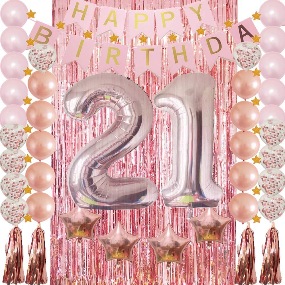 Get Quotations 21st Birthday Decorations