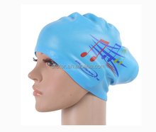 Cheap Silicone women swimming caps for long hair