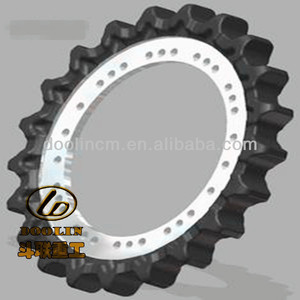 high quality spare part sprocket for Excavator pc200-8