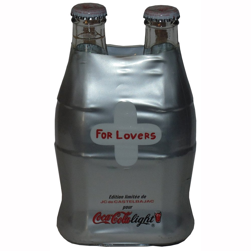 France JC de Castelbajac Wrapped Diet Coke For Lovers Bottles 2001