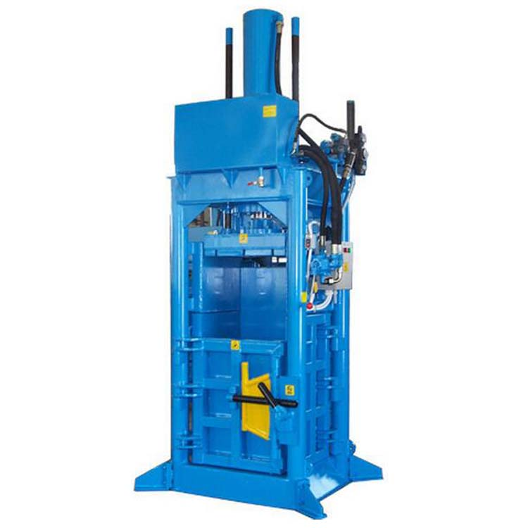 Home Using farming use Vertical Hydraulic Baler Machine
