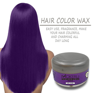 China OEM temporary colorful fragrance one-time color hair wax best hair wax for men