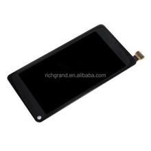 Original LCD display and touch screen digitizer assembly for Nokia N9
