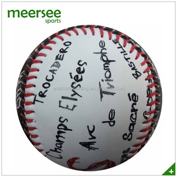 Baseballs For Sale >> 9 Hand Sewn Promotional Baseballs Buy Used Baseballs For Sale