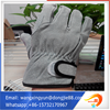 China manufacturer stability performance golf motorcycle gloves leather/half finger leather driving gloves