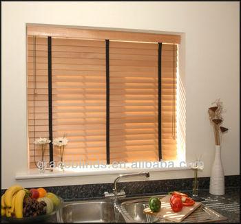 Inside Mount Decorative Cloth Tapes Cord Tilt Left Lift Cords Right Venetian Window