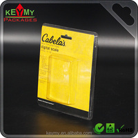 Clear plastic clamshell, cheap blister clamshell packaging, PET Clamshell for electronic parts