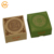 Custom antique foldable kraft square paper incense packaging  box