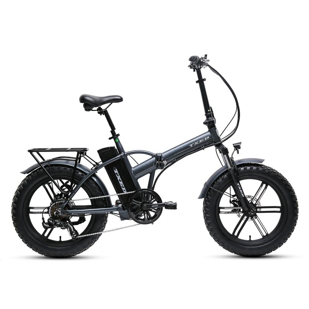 Foldable Rear Hub 500W Motor Cheap Electric Fat Bike Folding
