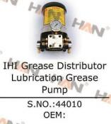 IHI Grease Distributor Lubrication G Concrete Pump spare parts for Putzmeister JUNJIN Schwing Sany concrete pump accessories