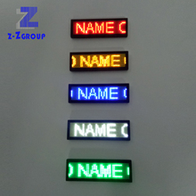 Lithium Battery LED Soft 디스플레이 스크롤 Message Text Badge