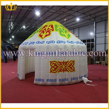 Special Customized Mongolian Yurt Inflatable House, Small Inflatable Dome Tent