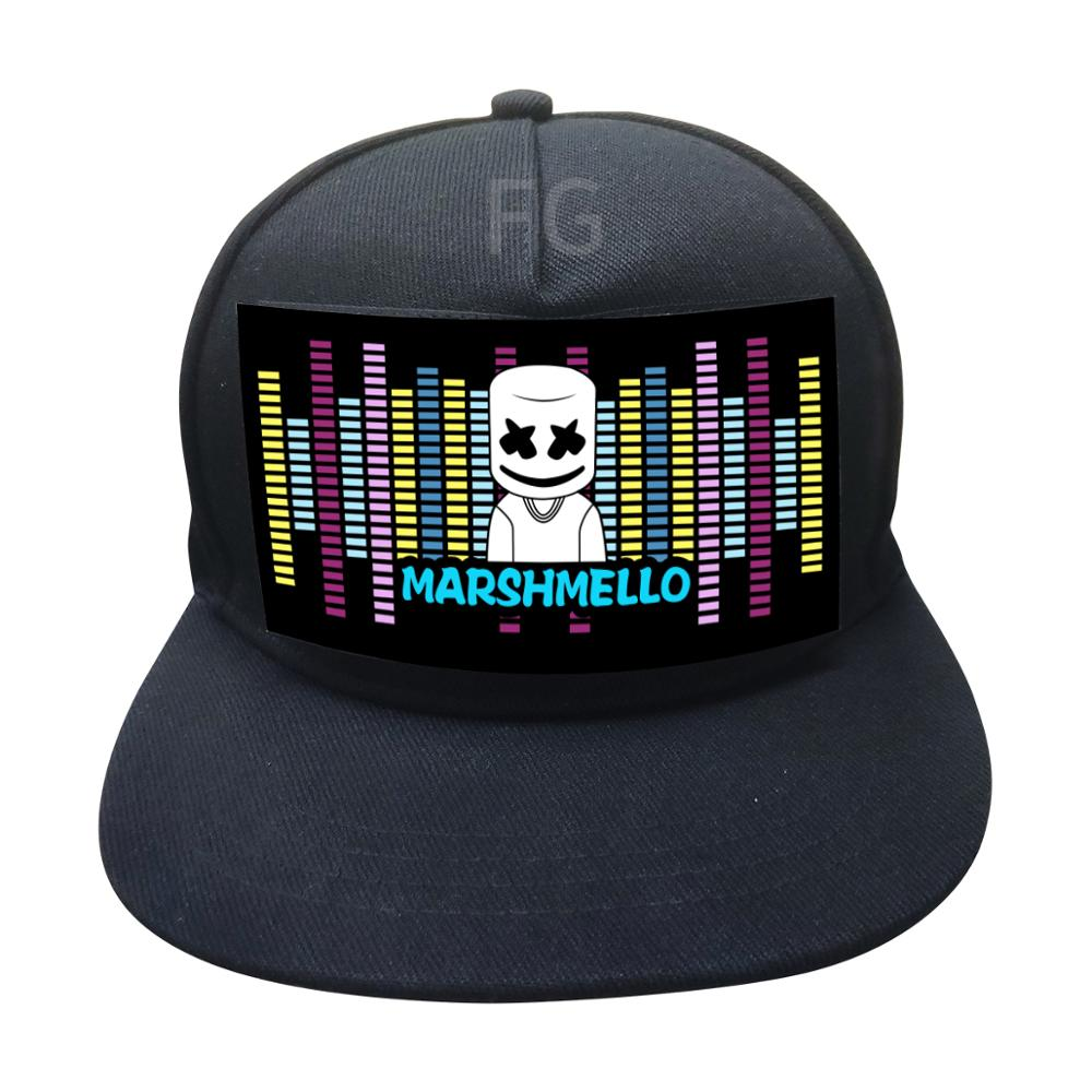 new arrival led sound activated party el flashing <strong>cap</strong>