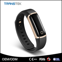 Bluetooth 4.0 waterproof heart rate monitor smart wristband watch