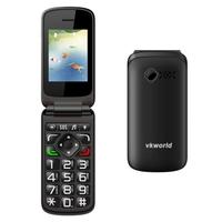 2016 consumer electronics online shopping Original VKworld Z2 Big font Big key Clamshell Phone Unlocked