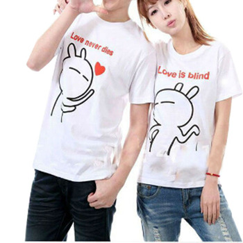 Hot Korea Fashion Love Couple T Shirt Design Wholesale Buy Love Couple T Shirt Design Korea Couple T Shirts T Shirts Wholesale Product On Alibaba Com