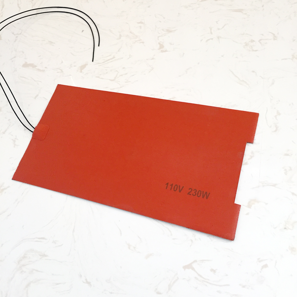 Heat Resistant Silicone Rubber Laminate Heating
