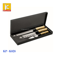 3pcs Japanese style gift box knife stainless steel knife carving knife set